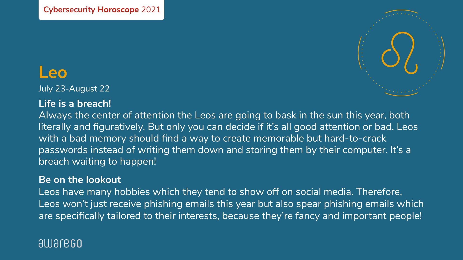 security awareness training horoscope